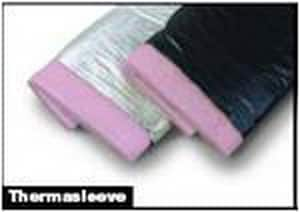 Atco Rubber Products 5 ft. x 4 in. Insulated Flexible Duct Sleeve with R8 Metalized Jacket A11000804