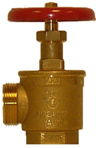 Fire-End & Croker 2-1/2 in. MNST Angle Hose Valve F5035CB