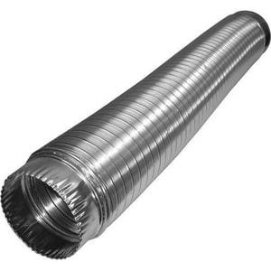 Deflecto 4 in. x 8 ft. Aluminum Compressed Semi-Rigid Flexible Air Duct DAM48