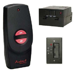 Monessen Hearth Systems On-Off Hand Held Remote in Black MRCB