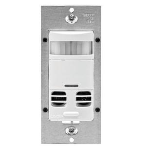 Leviton Decora® Dual Technician Wall Mount Delay Occupancy Sensor in Ivory LOSSMDFTI