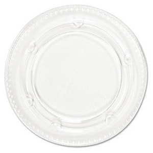 Plastic Cup Lid in Clear for Lagasse Sweet 3.25 - 4 oz. Cups (Case of 120) BWKYLS3FR
