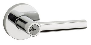 Kwikset Milan™ Entry Lever in Brushed Chrome K156MIL26D6ALRCS