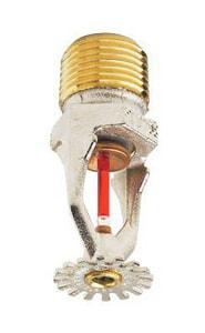 Victaulic FireLock™ Model V2708 1/2 in. White 155 Degrees F Quick Response Pendent Upright Sprinkler Head 5.6 K-Factor VS271BCQ440