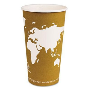 20 oz. Hot Plastic Cup in Rust (Case of 1000) ECPEPBHC20WA