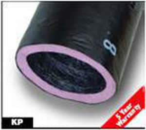 JP Lamborn 10 in. x 50 ft. Polyethylene R4.2 Insulated Flexible Air Duct JPR5010BX