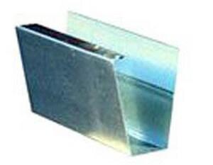 Roof Top Metal 7-1/4 x 25 in. 26 ga Plain Bond Fascia Gutter RGUPW71426B25