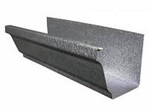 Roof Top Metal 6 x 25 in. 26 ga. Bond Gutter RGUOGW626B25