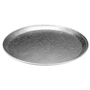 16 in. Aluminum Round Embossed Service Tray (Case of 25) HFA2013100
