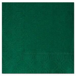 Hoffmaster 10 x 10 in. 2-Ply Beverage Napkin in Hunter Green HOF180337