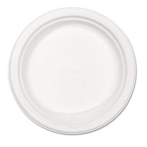 Chinet 8-3/4 in. Paper Plate in White (Case of 125) HUHVERDICT