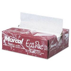 Marcal 10-3/4 x 6 in. Deli Wax Paper (Case of 500) MCD5290