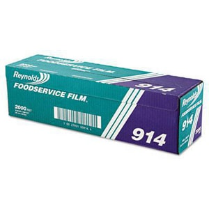 Reynolds Wrap 2000 ft. x 18 in. PVC Film Container Roll in Clear REY914