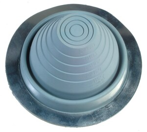 ITW 10 in. - 18 in. X 25-3/8 in. Rubber Pipe Flashing #9 B4028910