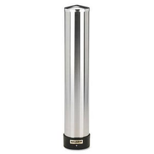 San Jamar 12 - 24 oz. Stainless Steel Dispenser Cup SANC3400P