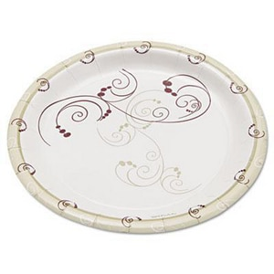 Solo Symphony® 6 in. Symphony Medium Weight Paper Plate (Case of 125) SCCMP6SYM