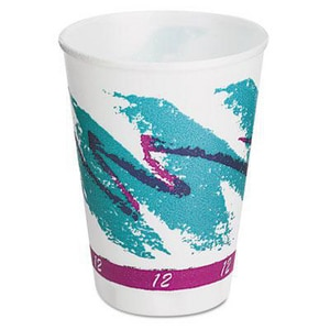 Solo Jazz® 12 oz. Hot and Cold Foam Cup (Case of 100) SCCX12J