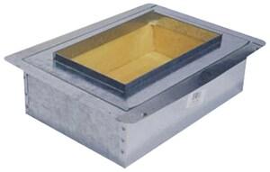6 x 12 in. Flanged Insulation Metal Box SHMFIBFGTR612N