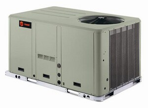 Trane Precedent™ 8.5 Tons 102 MBH 208/230V Three Phase Commercial Packaged Gas/Electric Unit TYHC102F3RLA020F
