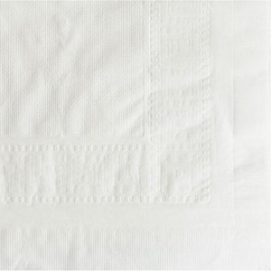 108 ft. x 54 in. 2-Ply Table Cover in White (Case of 25) HFM210130
