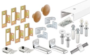 Primeline Products 60 in. Bifold Closet Track Kit P161796