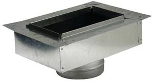 Royal Metal 6 x 10 x 6 in. Flanged Insulation Metal Box SHMFIBMTR610UN
