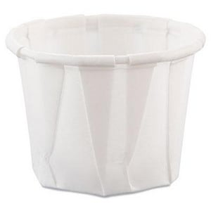 0.75 oz. Paper Souffle Cup in White (Case of 250) SCC075