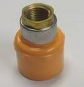 Spears FlameGuard™ 1 x 3/4 in. CPVC Sprinkler Slip Female Adapter Brass S4235131