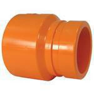 Spears FlameGuard™ 1-1/4 x 1-1/4 in. CPVC Groove Sprinkler Coupling Adapter S4233