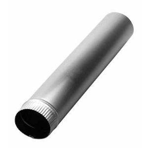 18 in. x 3 ft. 26 ga Metal Round Duct Pipe SHMKDL2618