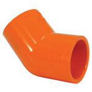 TYCO BlazeMaster® 1-1/4 x 1-1/4 in. CPVC Sprinkler 45 Degree Elbow T80052