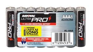 Rayovac AAA Alkaline Battery 8-Pack RALAAA