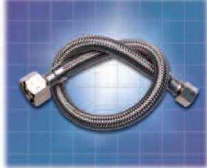 LSP Products Group 1/2 x 3/8 x 72 in. Stainless Steel Dishwasher Connector LKDW172PP