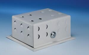 Supco Steel Thermostat Guard in Baked Enamel SBTG54VL