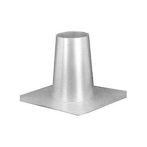 Hart & Cooley 10 in. Gas B Vent Tall Cone Flashing H10RTF