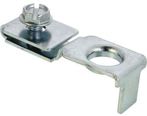 Primeline Products 3/8 in. Closet Door Pivot Bracket 4-Pack PMP66404
