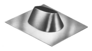 American Metal Products AmeriVent® 3 x 22 x 4-1/4 in. Aluminum All Fuel Pipe Flashing AEFDSA
