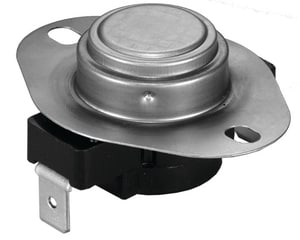 Supco Therm-O-Disc® Single Pole Throw Limit Thermostat with Heater for Whirpool 3387134 SL15525W