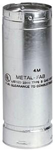 Metal Fab SureLock™ 4 in. X 18 in. Type B Gas Vent Pipe M4M18