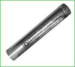 Greenseam Industries 6 in. x 2 ft. 26 ga Galvanized Steel Round Duct Pipe G24SPBG6GA26