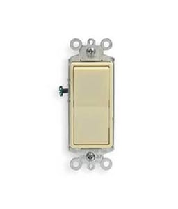 Leviton Decora® 15A Shop Prime Switch in Ivory L56012I