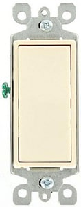 Leviton Decora® 15A 3-Way Switch in Light Almond L56032T