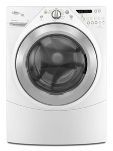Whirlpool Duet® 27 in. 3.8 cf 12-Cycle Front Load Washer WWFW9550W