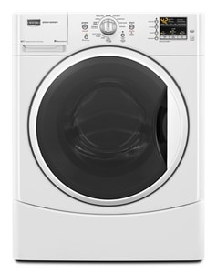 Maytag Maxima® 27 in. 3.5 cf 12-Cycle Front Load Washer in White MMHWE201YW