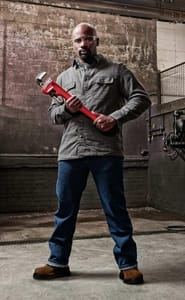 RIDGID Model 36 36 in. X 5 in. Straight Pipe Wrench R31035 at Pollardwater