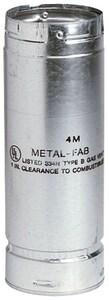 Metal Fab SureLock™ 3 in. X 60 in. Type B Gas Vent Pipe M3M5