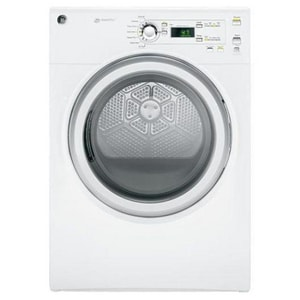 General Electric Appliances DuraDrum™ 7 CF 7-Cycle Electric Dryer in White GGFDN120EDWW