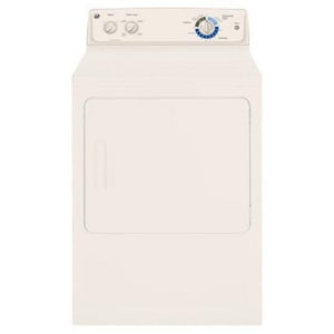 General Electric Appliances 6 cf Electric Dryer in White GGTDX185EDCC