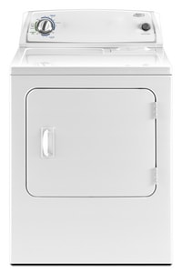 Whirlpool AccelerCare® 6 cf 12-Cycle 3-Temperature Electric Dryer in White WWED4890XQ