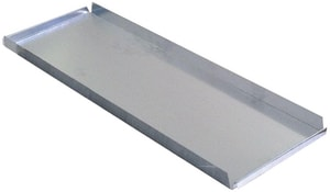 Royal Metal Products 3 in. Galvanized Rectangular Duct End Cap R411312